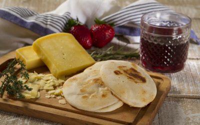 Arepas de yuca con queso